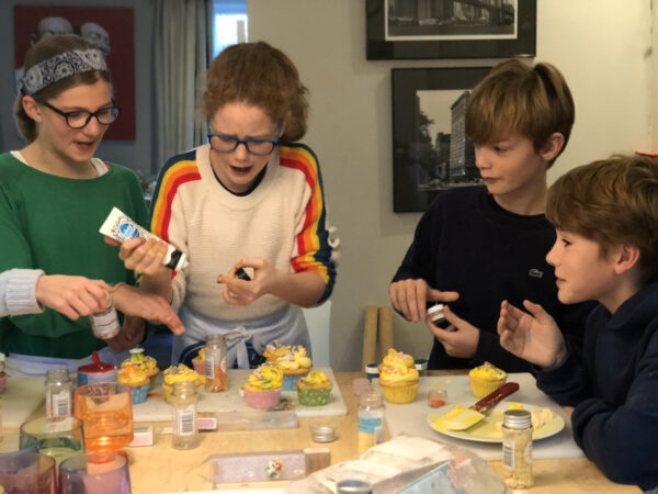Junior cooking course