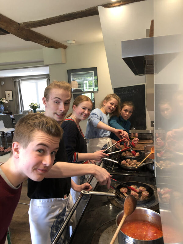 Teen cooking courses